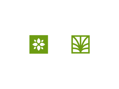 Logo Exploration leaf logo leaf mark grow iron compass logos logo
