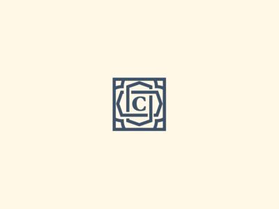 Interior Design Logo mosaic idenity branding logo
