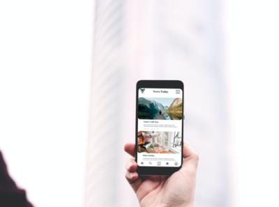 V Blog App