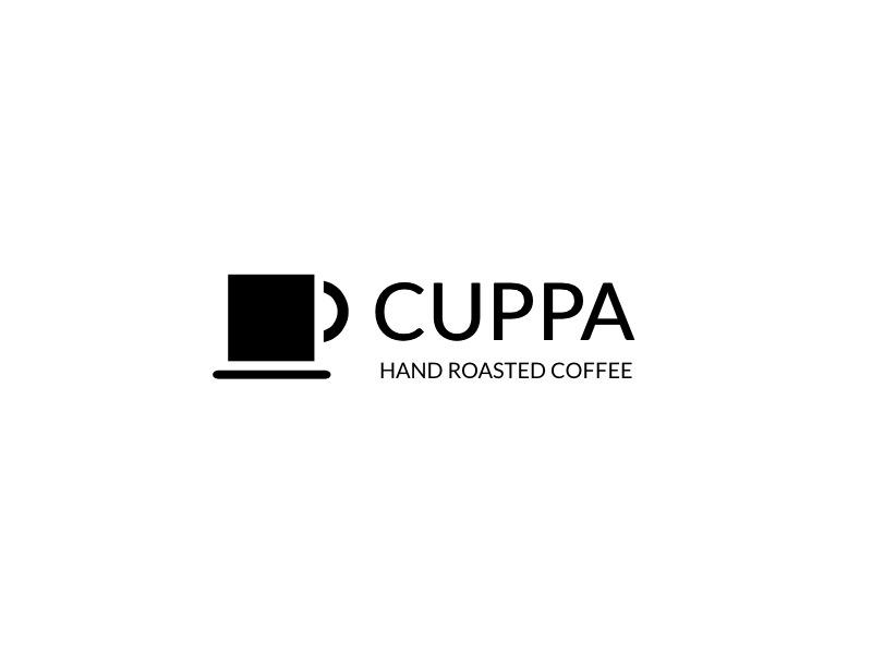 Cuppa squarespace logo fiction coffee roaster