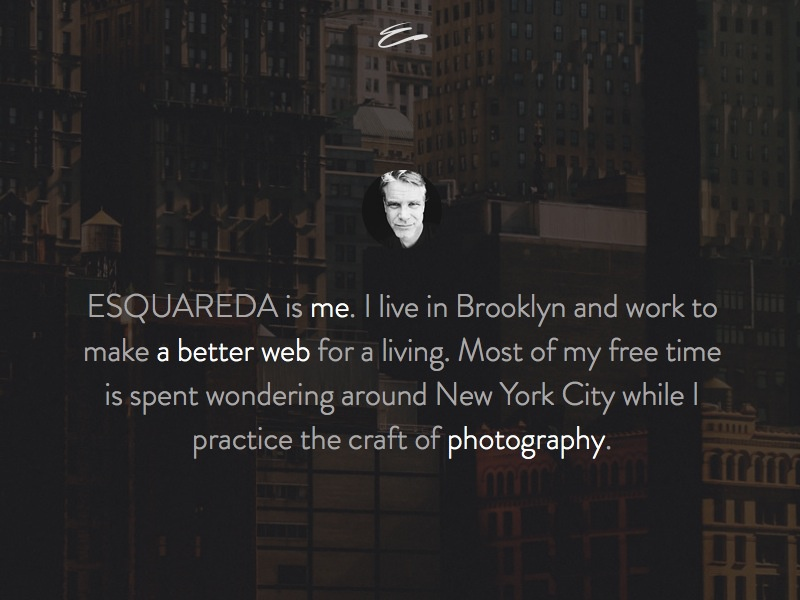 Website Realign squarespace website personal pacific template brandon grotesque