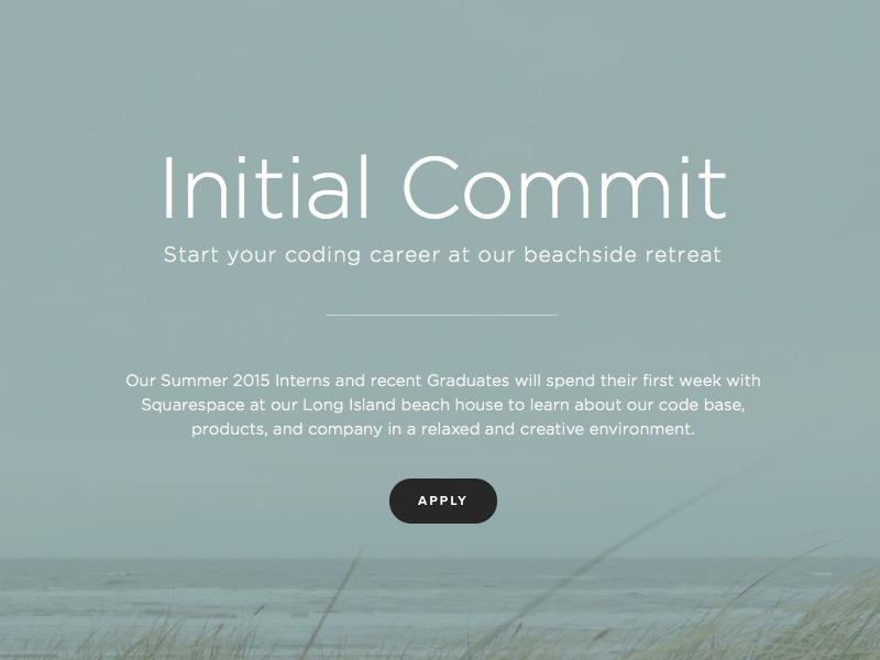 Initial Commit squarespace gotham beach pacific
