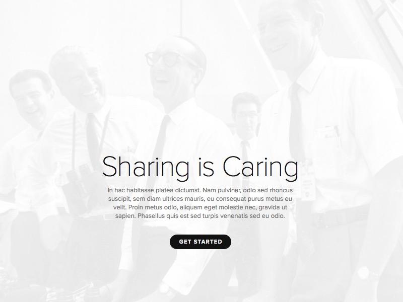 Ultra Simple Cover Page nasa public-domain images proxima-nova