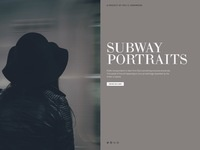 Subway portraits cover page full