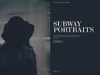 Subway portraits cover page full alt
