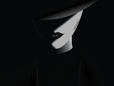 black hat girl