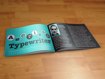 American Typewriter Brochure