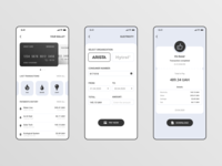 Payment App social card commual payment pay ios minimal web ux ui design app