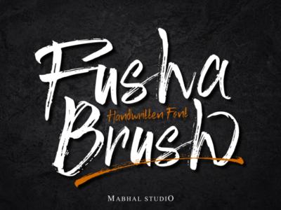Fusha   Handwritten Font Brush