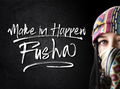 Fusha Poster - Fusha Font Brush