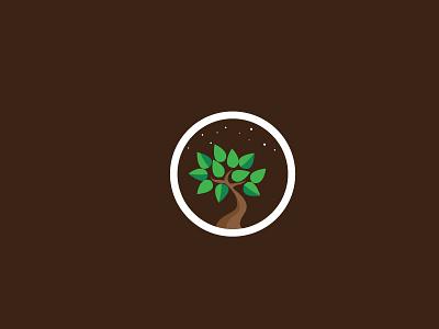 Night Growth fertilizer design concept logo growth organic vitamins farm