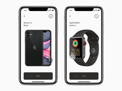 Mobile Shopping Page