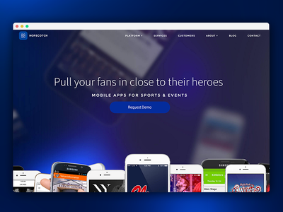 Hopscotch Website WIP
