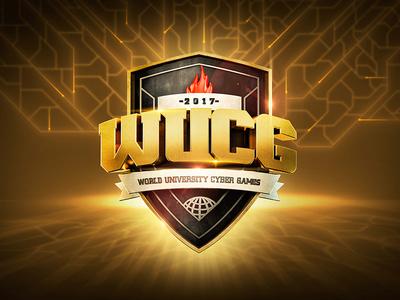 WUCG wucg shield logotype logos logo icon game branding badges badge 3d c4d