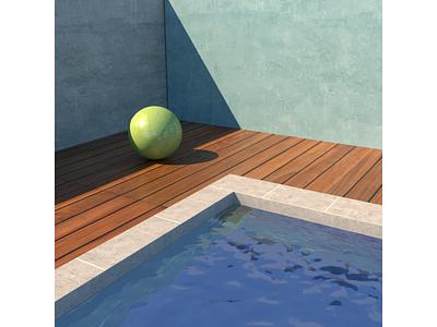 Exterior designs light shader texture sun concept cgart design cinema4d 3d