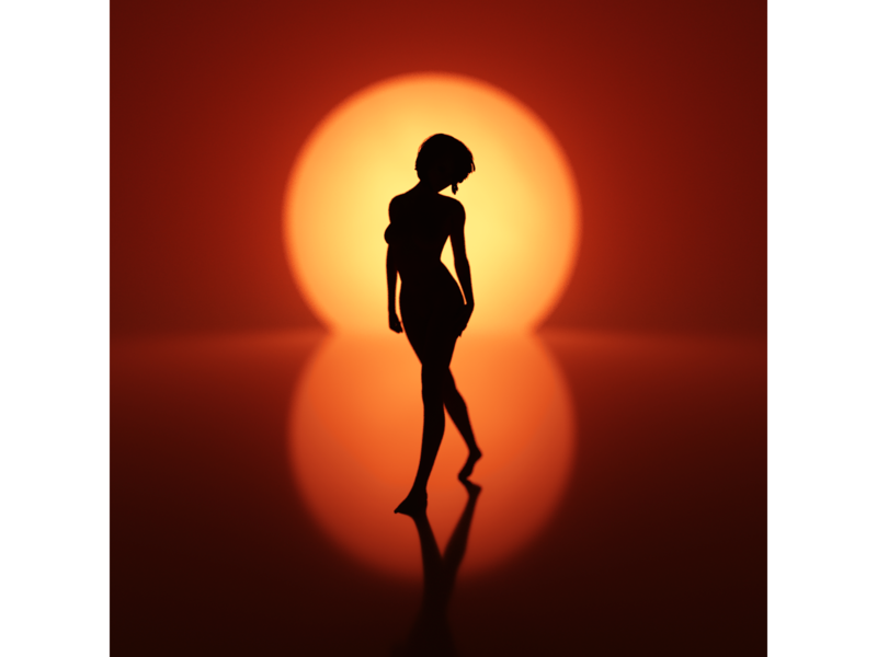 Silhouettes artwork art colors cgart cg light illustration concept design cinema4d 3d