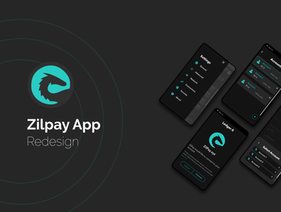 Zilpay App Redesign branding affinity designer ux interaction animated adobe xd affinitydesigner ui application redesign app design app