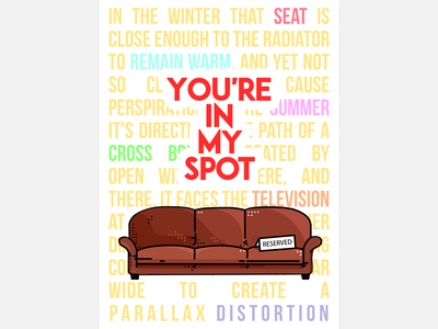 Big Bang Theory Illustration Poster
