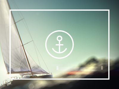 anchor.travel — logo anchor travel logotype circle simple geometry