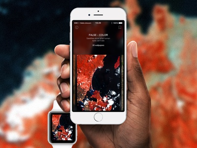 WLPPR behance satellite nasa wlppr wallpapers app iphone ios