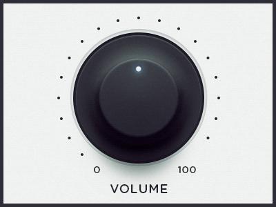 WEGA 51K UI — Volume ui ux wega volume dial button ps
