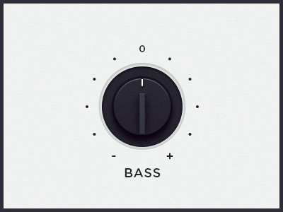 WEGA 51K UI — Bass ui ux wega dial button bass ps