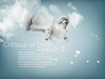 Kaliningrad App — Critique Of Pure Reason ios ipad presentation education illustration critique of pure reason