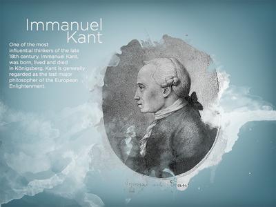 Kaliningrad App Immanuel Kant ios ipad presentation education illustration imannuel kant