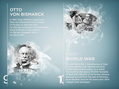 Kaliningrad App — Otto Von Bismarck… ios ipad presentation otto von bismarck