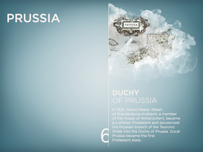 Kaliningrad App — Prussia ios ipad presentation prussia