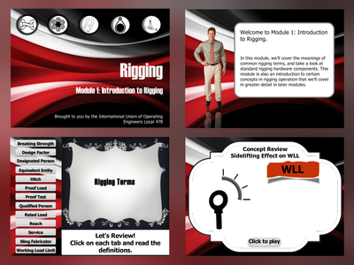 Instructional Design with Interactive Features - Slide Examples