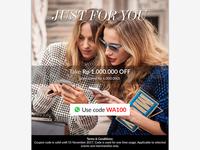 Whatsapp Promo Email Newsletter