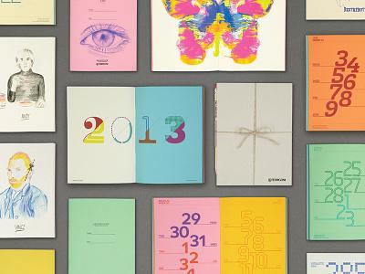 Fedrigoni Woodstock Promotional Calendar fedrigoni woodstock calendar the one off print fluoro