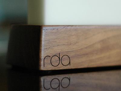 Walnut Docking Station engraved wood rda walnut natural