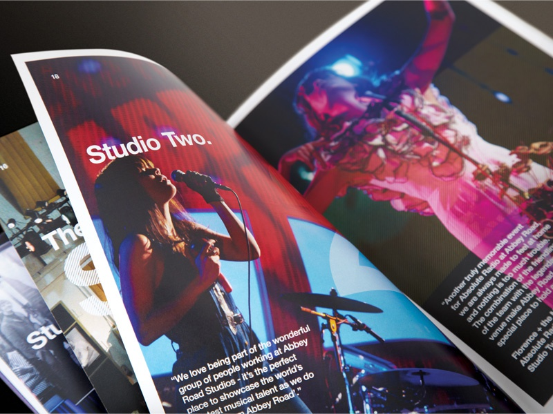 Abbey Road Events Booklet abbey road events booklet booklet abbey road music brochure helvetica
