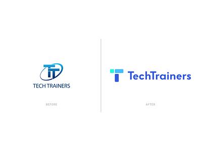 Tech Trainers Rebrand product design ui ux web design rebrand branding
