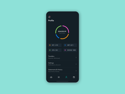 User Profile for Crypto Wallet crypto currency crypto cryptocurrency crypto exchange crypto wallet