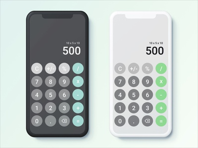 Daily UI Day 4 - Calculator