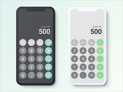 Daily UI Day 4 - Calculator calculator app calculator ui calculator sketch dailyinspiration dailyui004 design uiux uidesign dailyuichallenge dailyui