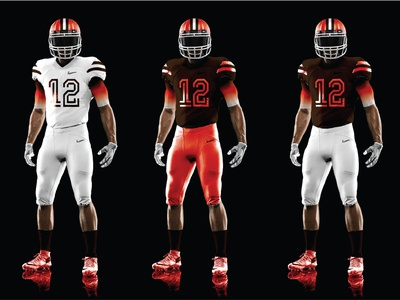 NFL Browns Uniform Redesign