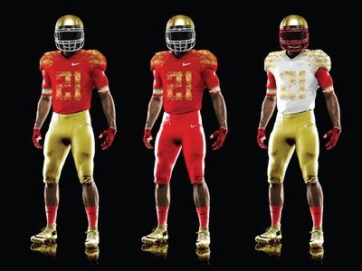 NFL Niners Uniform Redesign