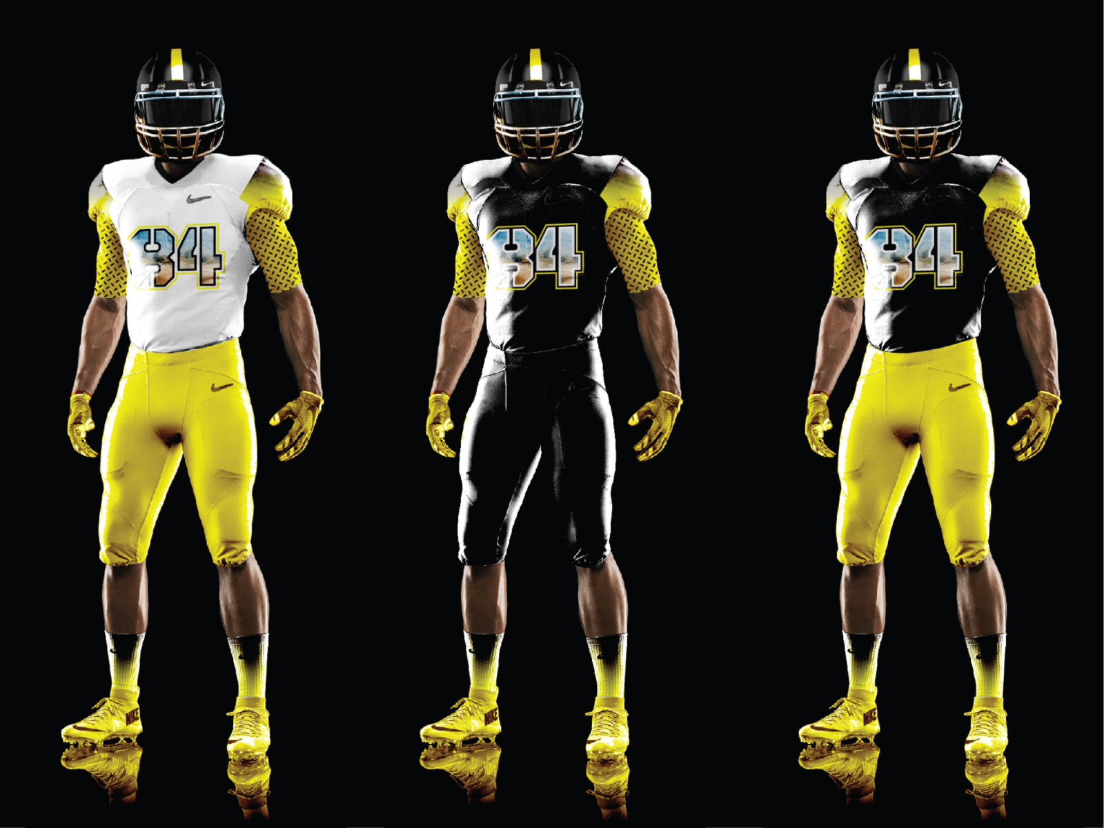 low priced b667a a9636 NFL Steelers Uniform Redesign by Adam Nielsen on Dribbble