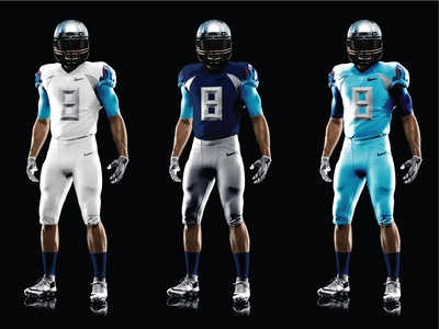 NFL Titans Uniform Redesign