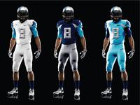 NFL Titans Uniform Redesign
