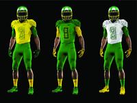 Oregon Ducks Uniform Redesign