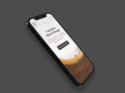 Elwood Design Co | Mobile Menu Animation 100 day challenge small business woodworking mobile design mobile animation menu animation hamburger menu mobile ui branding ux design ux adobe xd ui design ui