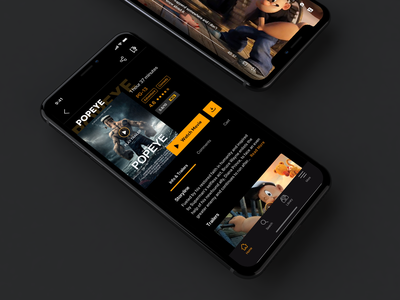 Its a video streaming app 🎬 video svod animation netflix exploration concept streaming video streaming streaming app