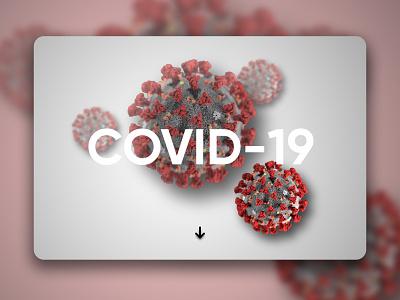 COVID - 19 covid-19 ui design ux design web design website uxui uiuxdesign uiux design web ux ui