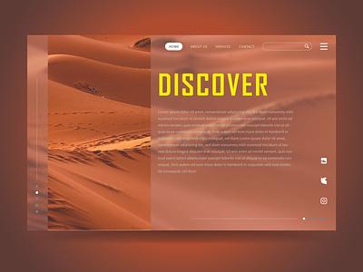DISCOVER web design ux design website uxui uiuxdesign uiux design web ux ui