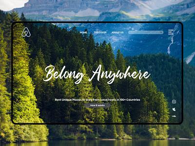 Belong Anywhere airbnb webdesign website design uidesigns ux  ui web design ux design website uxui uiuxdesign uiux design web ux ui